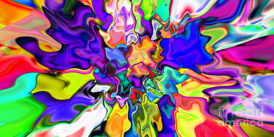 Abstract Digital Art - Abstract 370 by Rolf Bertram