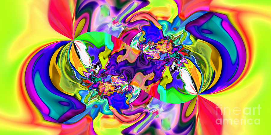Abstract Digital Art - Abstract 371 by Rolf Bertram