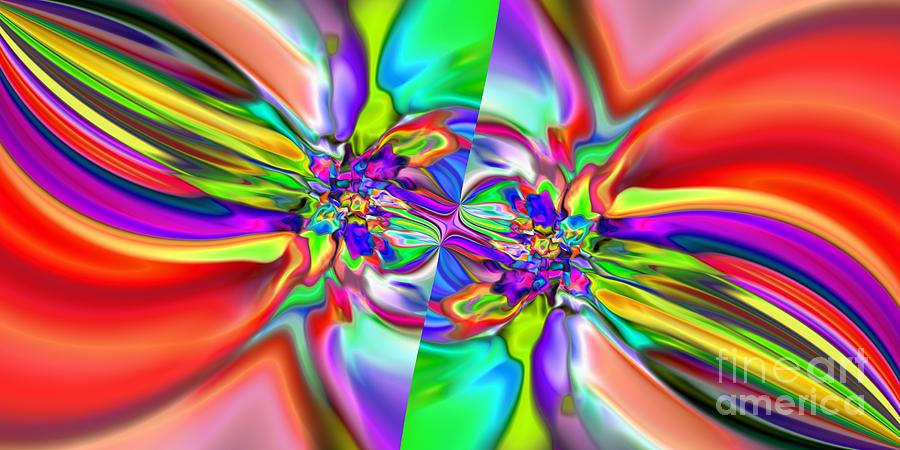 Abstract Digital Art - Abstract 377 by Rolf Bertram