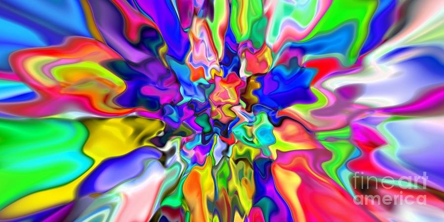 Abstract Digital Art - Abstract 382 by Rolf Bertram