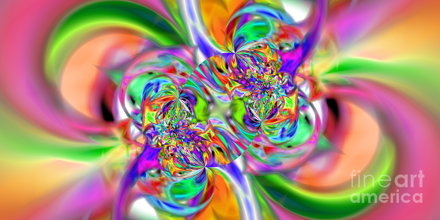 Fractal Digital Art - Abstract 386 by Rolf Bertram