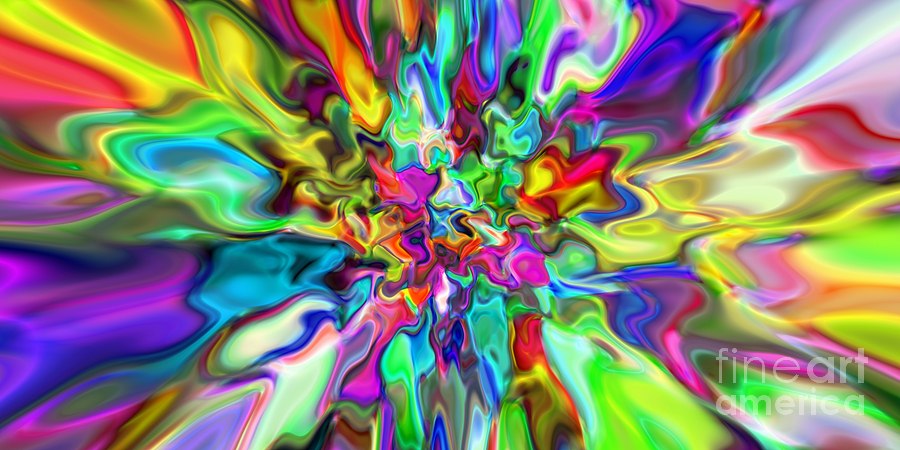 Abstract Digital Art - Abstract 394 by Rolf Bertram