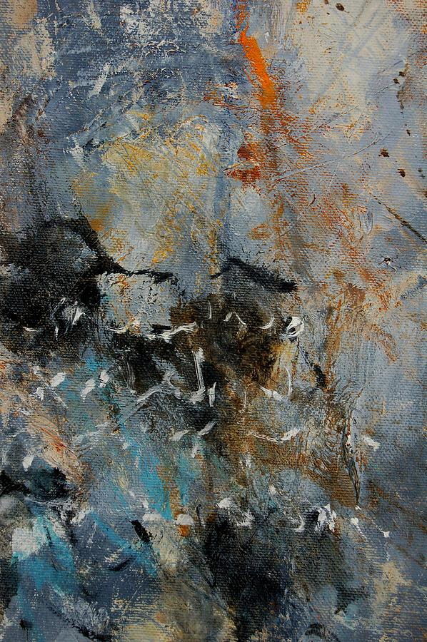 Abstract Painting - Abstract 4526987 by Pol Ledent