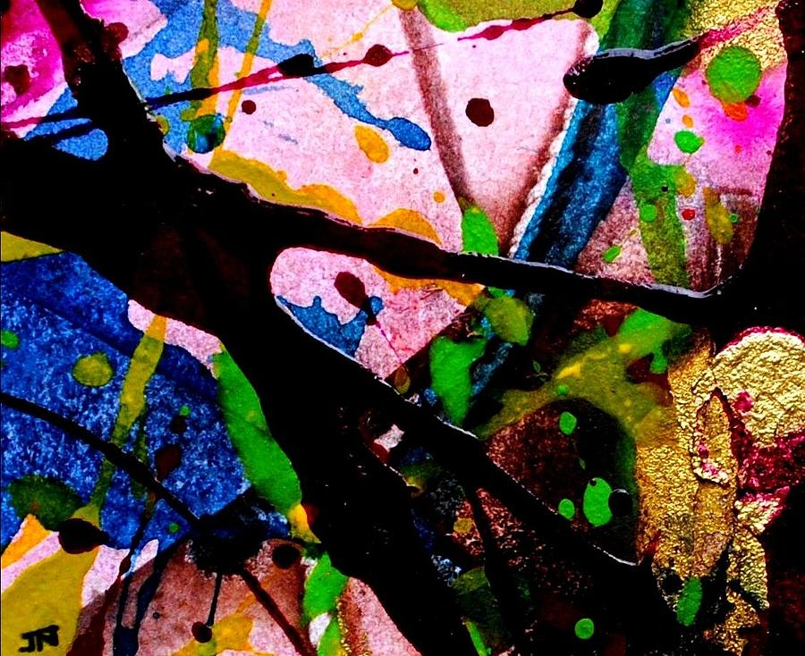 Abstract Mixed Media - Abstract 48 by John  Nolan