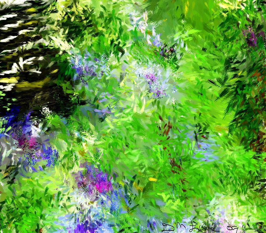 Abstract Digital Art - Abstract 5-26-09 by David Lane