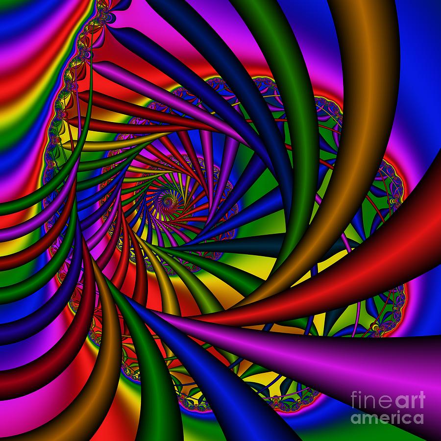 Abstract Digital Art - Abstract 532 by Rolf Bertram