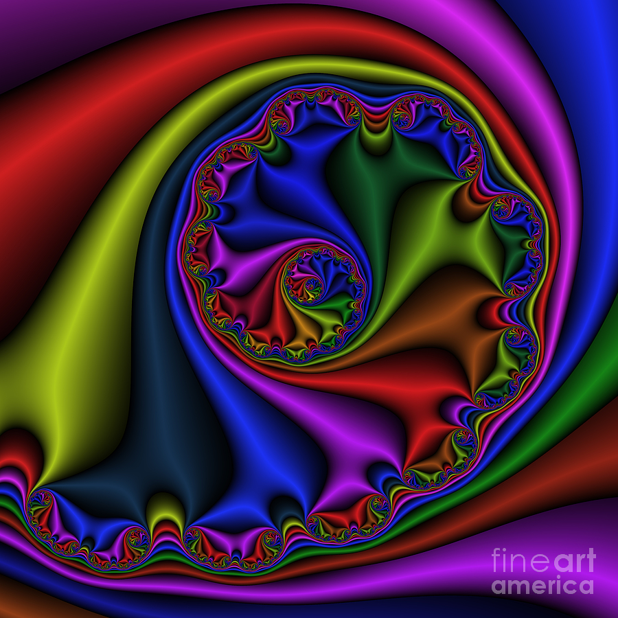 Abstract Digital Art - Abstract 536 by Rolf Bertram