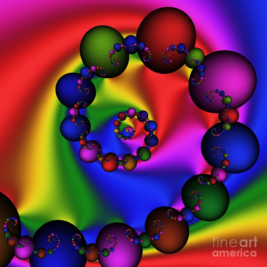 Abstract Digital Art - Abstract 537 by Rolf Bertram