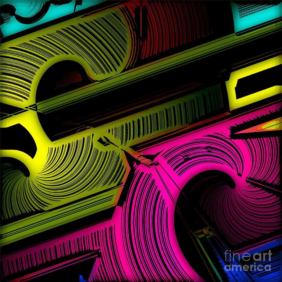 Abstract Digital Art - Abstract 6-21-09 by David Lane