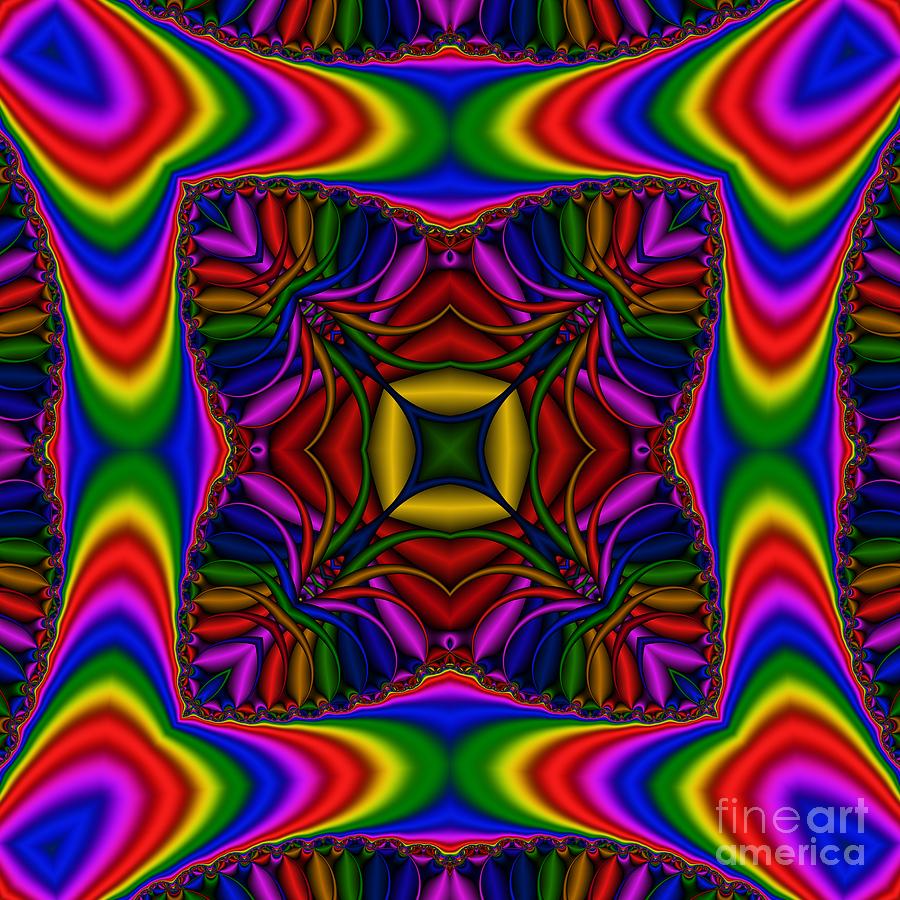 Abstract Digital Art - Abstract 615 by Rolf Bertram