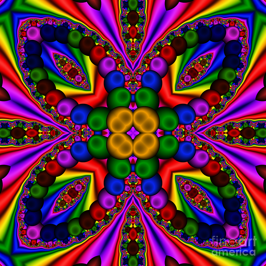 Abstract Digital Art - Abstract 659 by Rolf Bertram