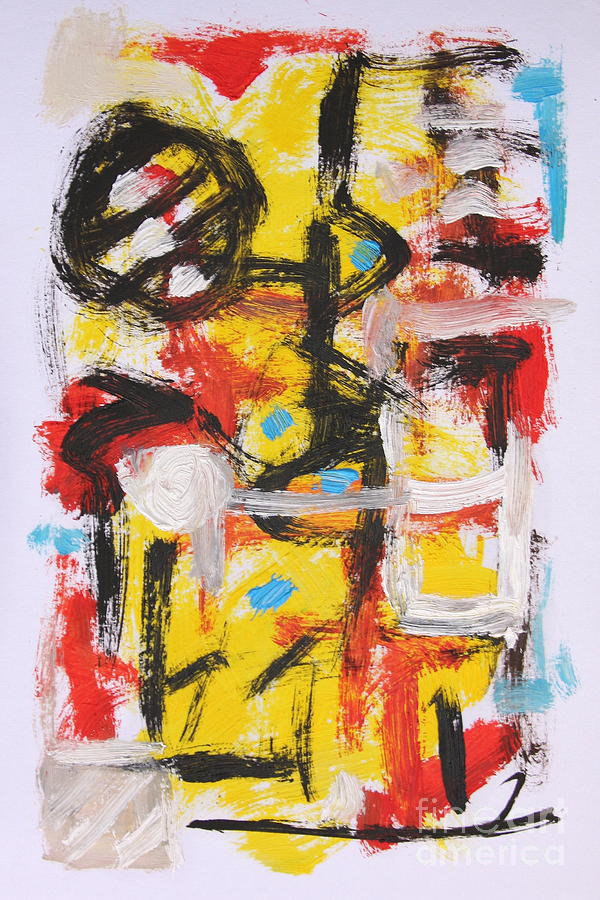 Abstract Painting - Abstract 6835 by Michael Henderson