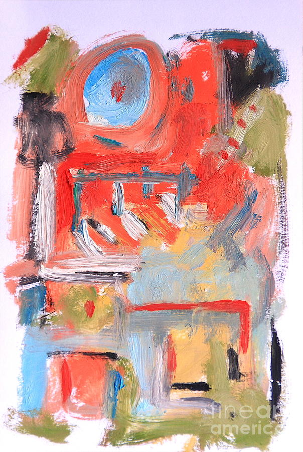 Abstract Painting - Abstract 7204 by Michael Henderson