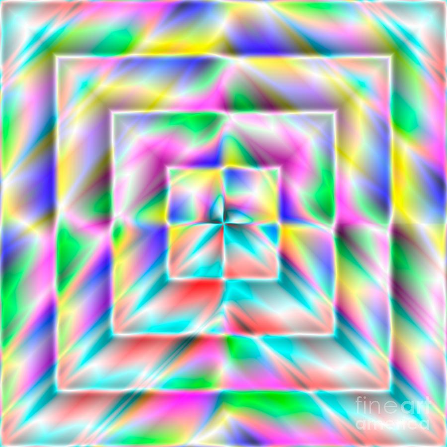 Abstract Digital Art - Abstract 729 by Rolf Bertram