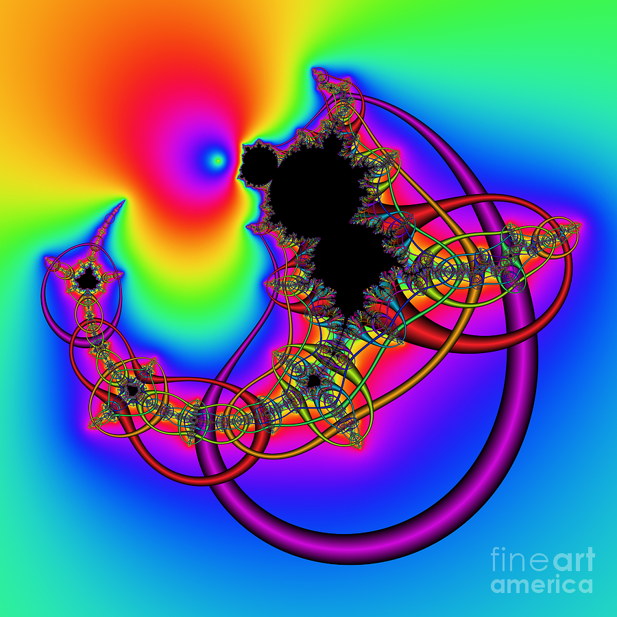 Abstract Digital Art - Abstract 81 by Rolf Bertram