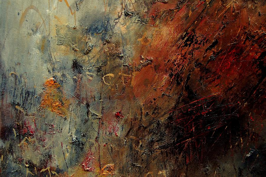 Abstract Painting - Abstract 900192 by Pol Ledent