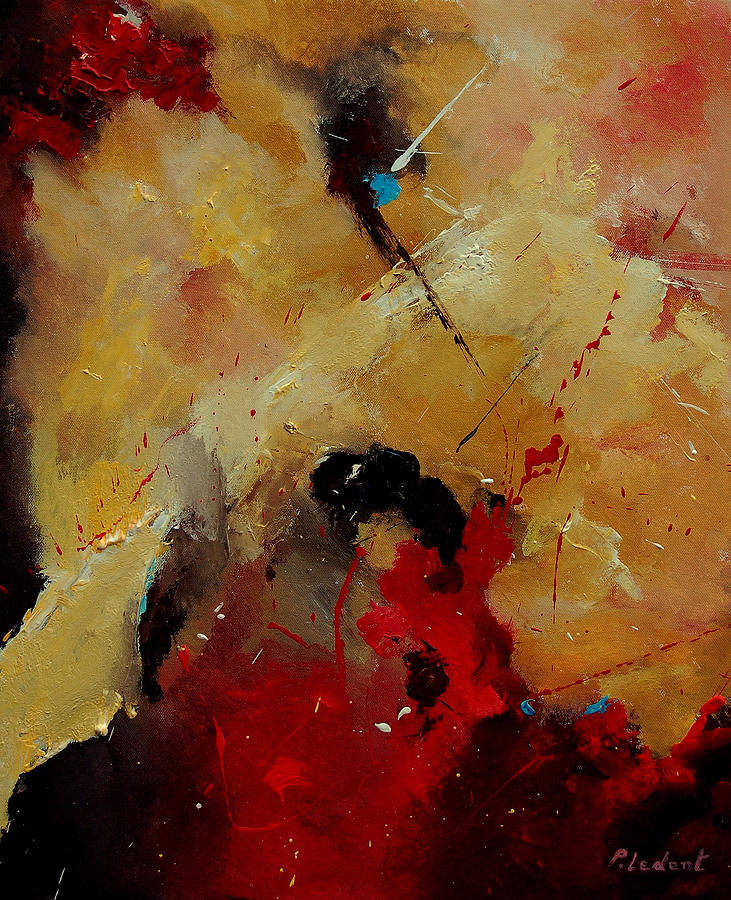 Abstract Painting - Abstract 901156 by Pol Ledent