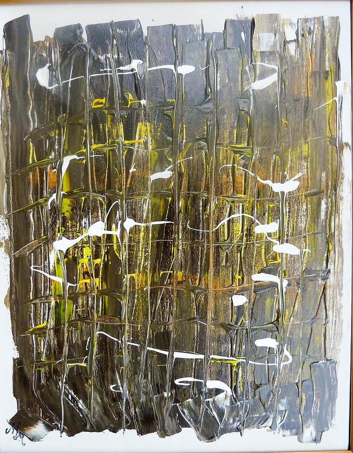 911 Painting - Abstract 911 by Martha Mullins