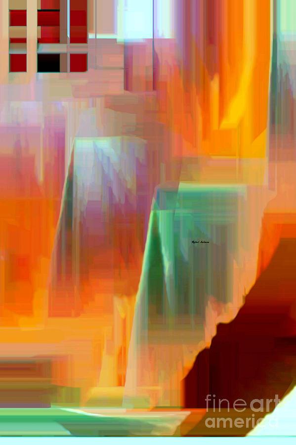 Colombia Digital Art - Abstract 9364 by Rafael Salazar
