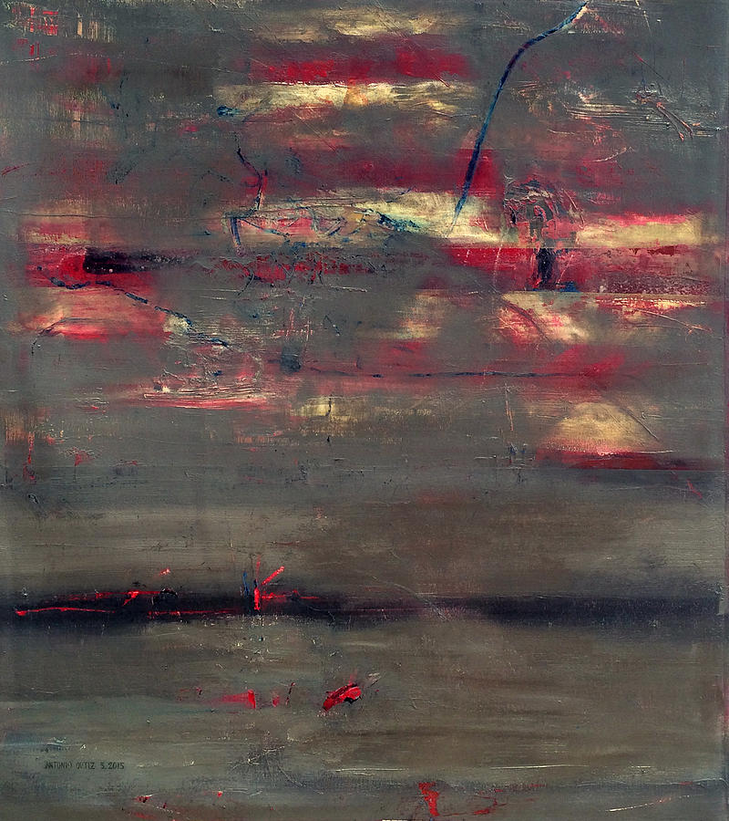 Abstract Expressionism Painting - Abstract America   by Antonio Ortiz