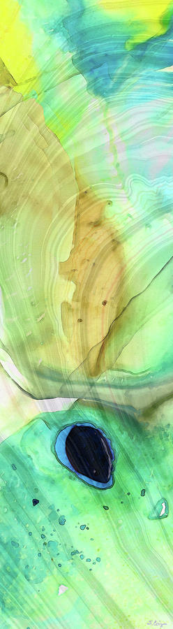 Modern Painting - Abstract Art - Calm - Sharon Cummings by Sharon Cummings