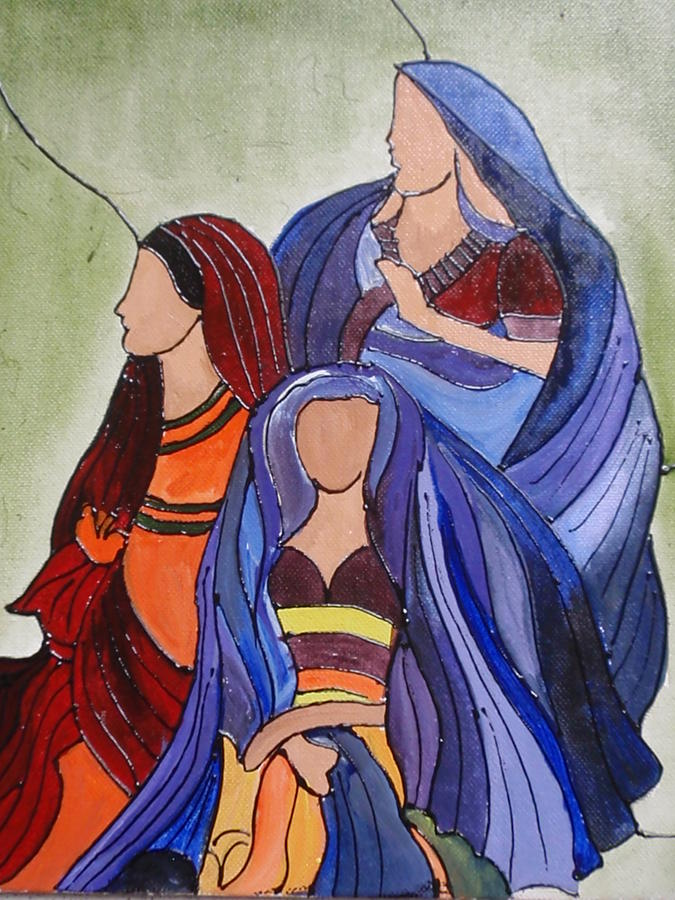 Abstract Art Painting by Shilpa Mehta
