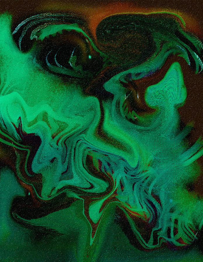 Abstract Design Digital Art - Digital Picture  Abstract Bq166 by Oleg Trifonov