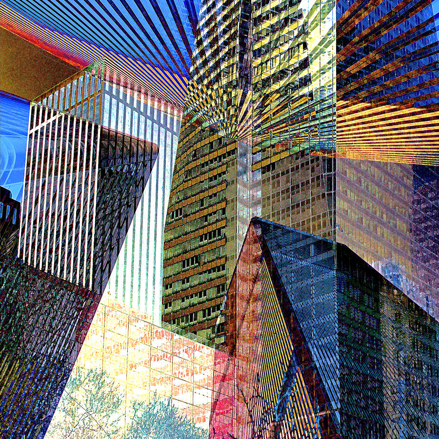 Abstract Buildings Photograph by Rene Sheret