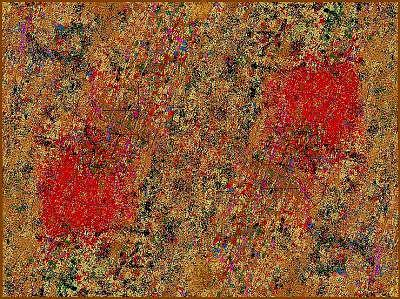 Abstract Painting - Abstract Comet by Peter Schwartz
