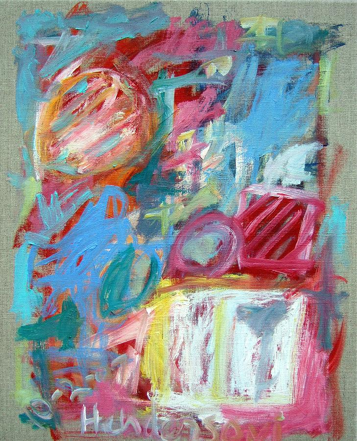 Abstract Painting - Abstract Composition 2 by Michael Henderson