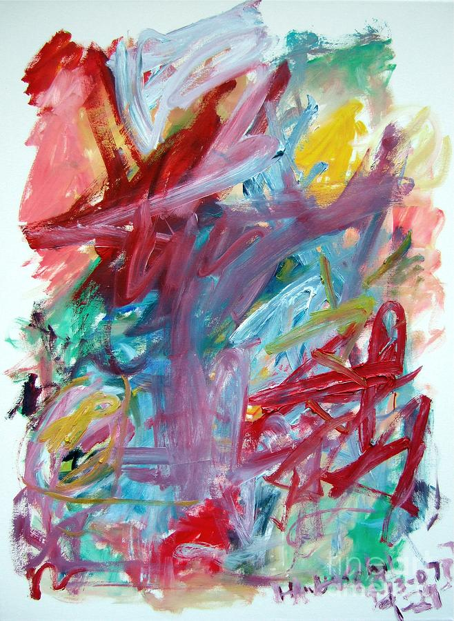 Abstract Painting - Abstract Composition by Michael Henderson