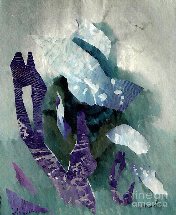 Abstract Mixed Media - Abstract Construction by Sarah Loft