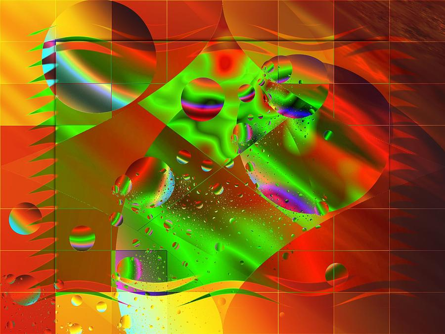 Digital Illustration Digital Art - Abstract Covers by Mario Carini