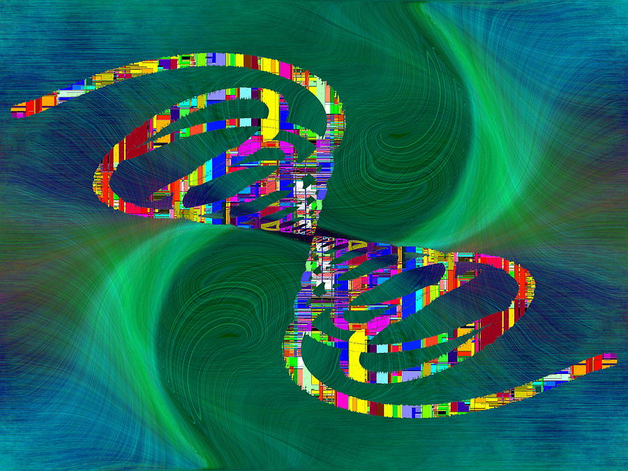 Abstract Digital Art - Abstract Cubed 374 by Tim Allen