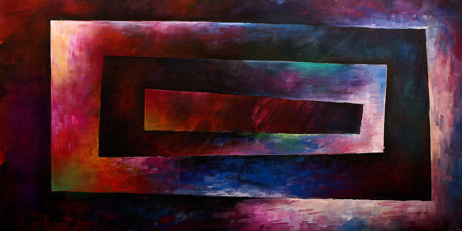 Abstract Design 3 Painting by Michael Lang