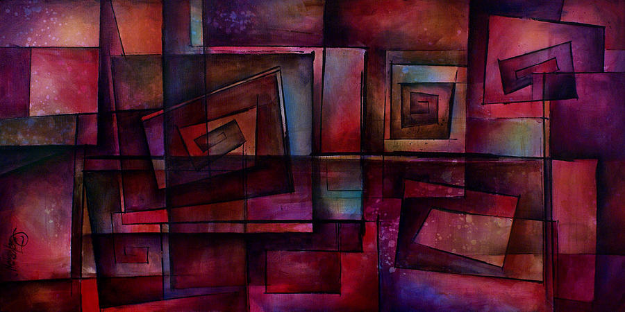 Abstract Painting - Abstract Design 89 by Michael Lang