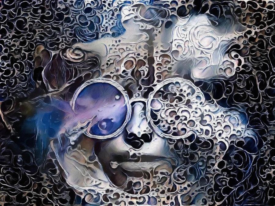Abstract Face Digital Art