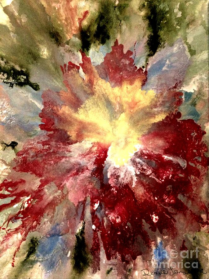 Abstract Flower by DENISE TOMASURA