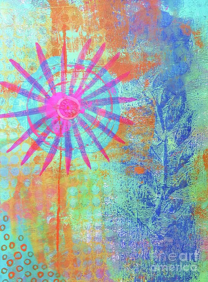 Abstract Garden Walk by Desiree Paquette