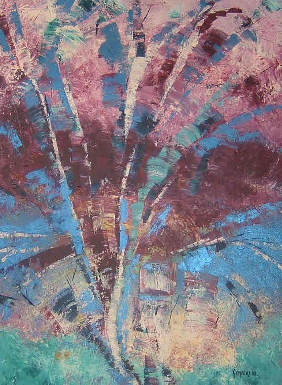 Landscape Painting - Abstract by Gayatri Manchanda