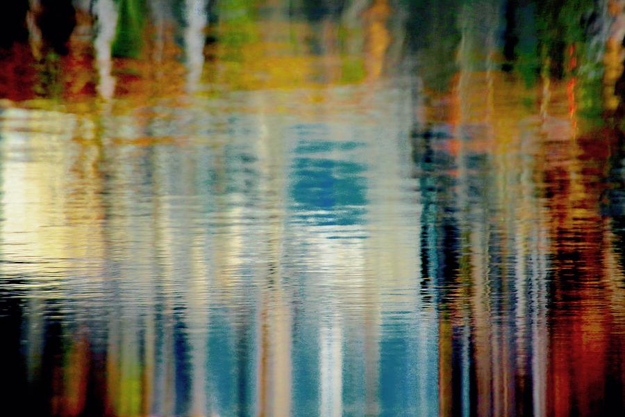 Shimmer Photograph - Abstract  by Gillis Cone