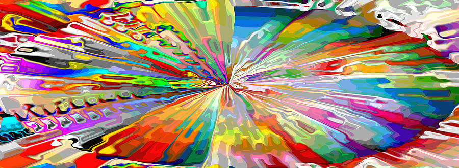 Abstract Glass Glee by Mary Clanahan