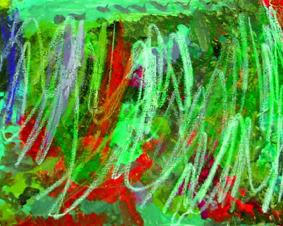 Abstract Mixed Media - Abstract l by Kiely Holden