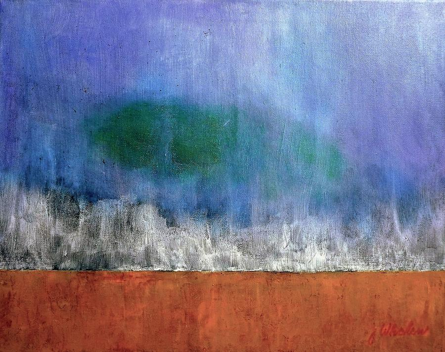 Abstract Landscape #313 Painting