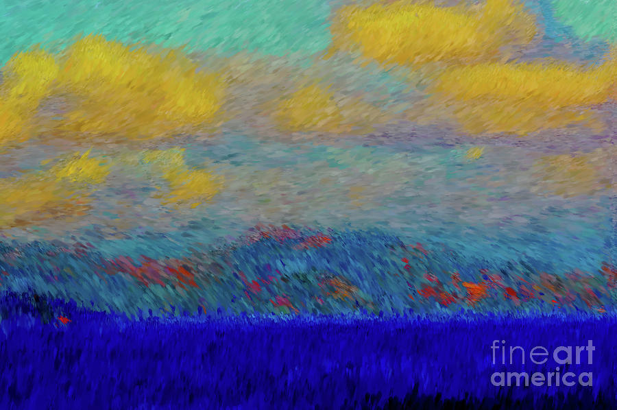 Abstract Landscape Expressions Photograph By Robyn King