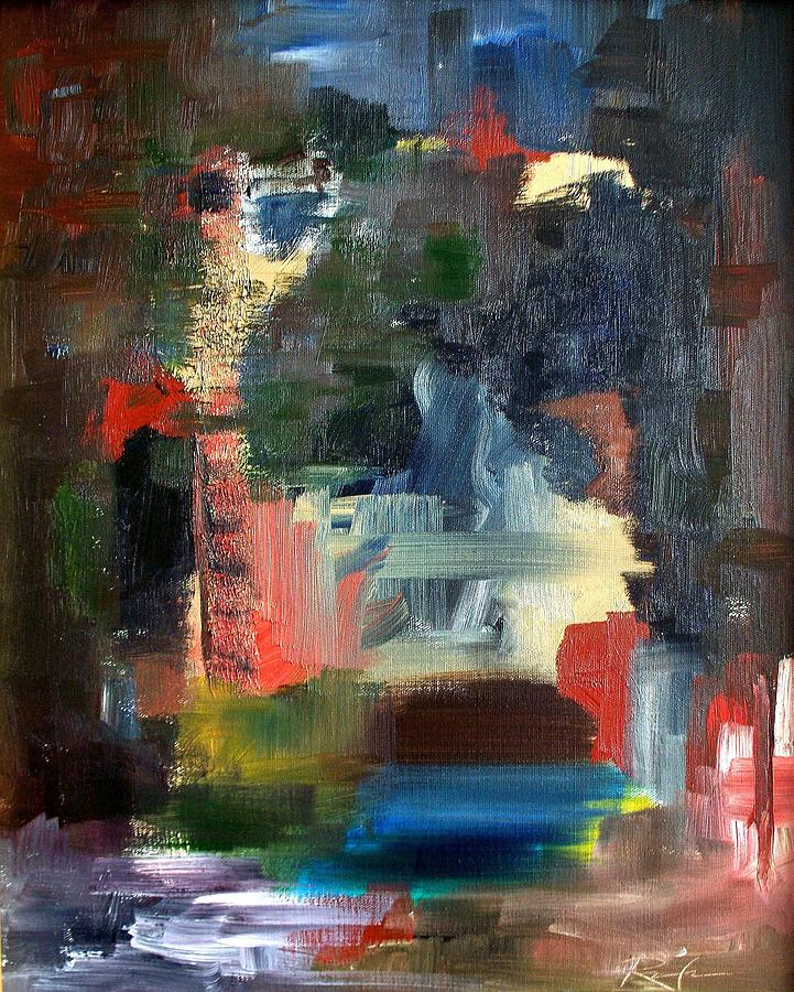Painting Painting - Abstract Landscape by RB McGrath