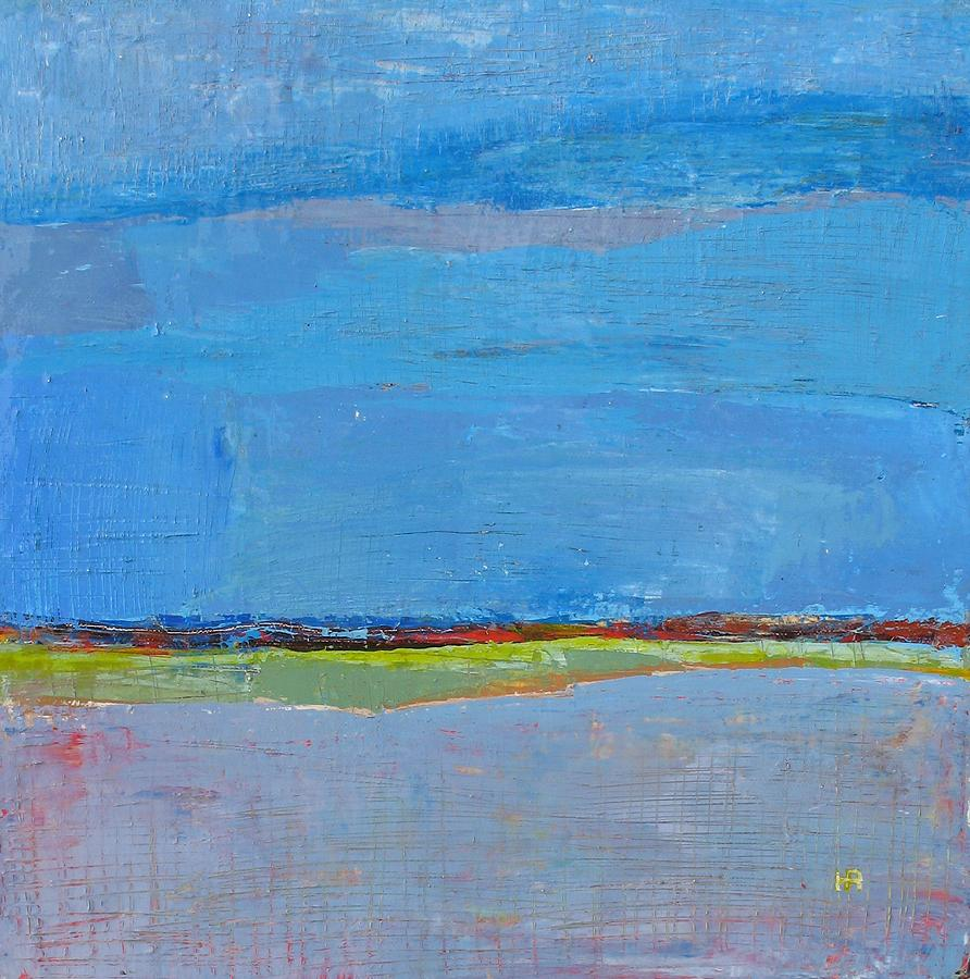 Abstract Landscape1 Painting by Habib Ayat