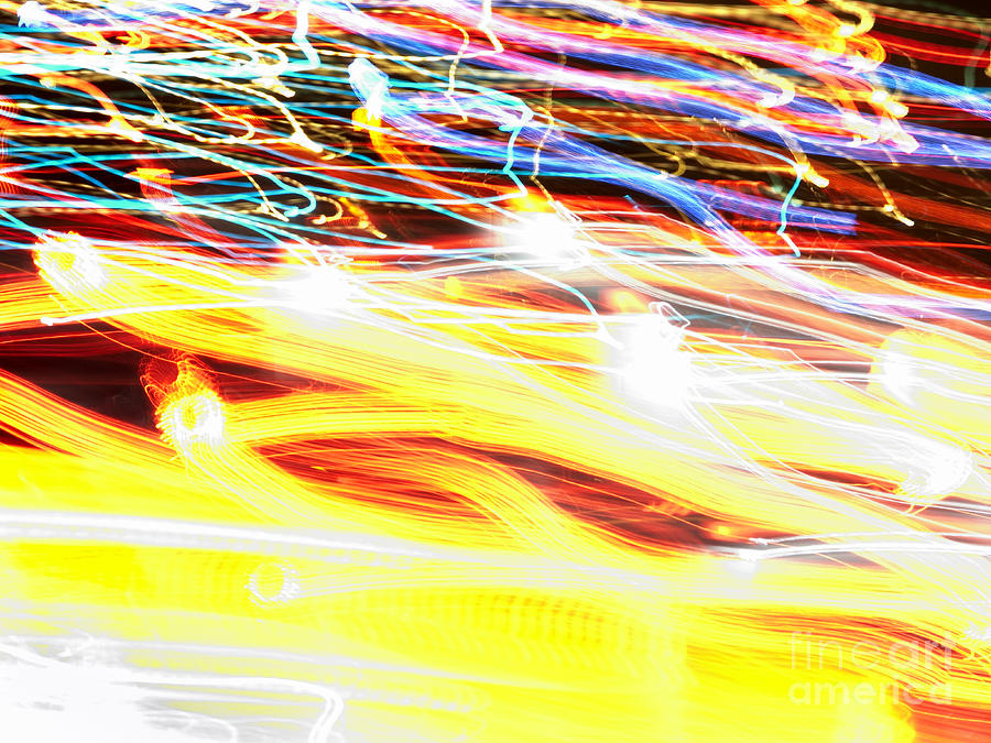 Abstract Photograph - Abstract Light by Tony Cordoza