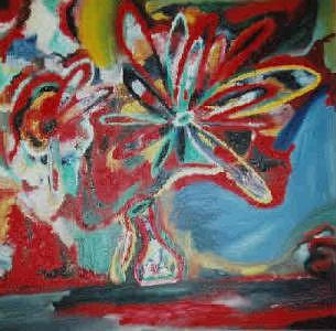 Abstract Magic03 Painting by Eric Utin