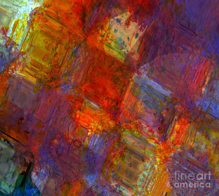 Fania Simon Mixed Media - Abstract Moments by Fania Simon